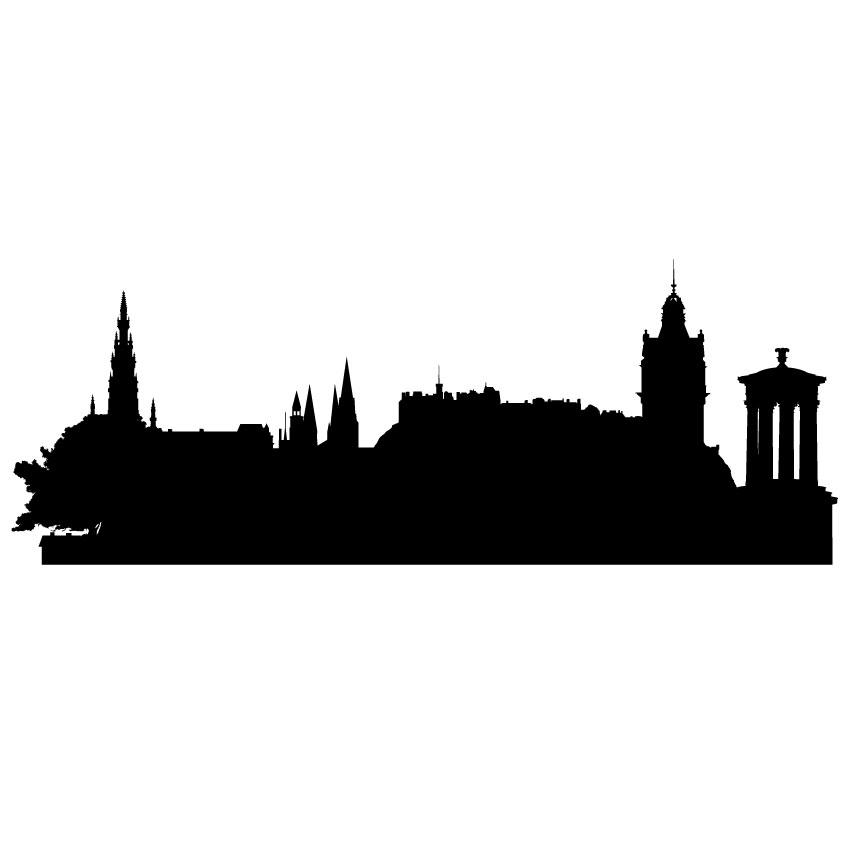 850x850 Edinburgh Skyline