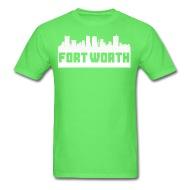 190x190 Fort Worth Texas Skyline Silhouette By Kwg2200 Spreadshirt