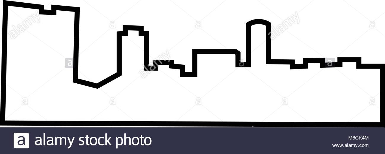 1300x521 Silhouette Skyline Stock Photos Amp Silhouette Skyline Stock Images
