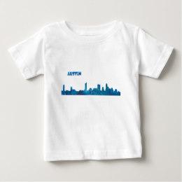 260x260 Texas Silhouette Baby T Shirts Zazzle