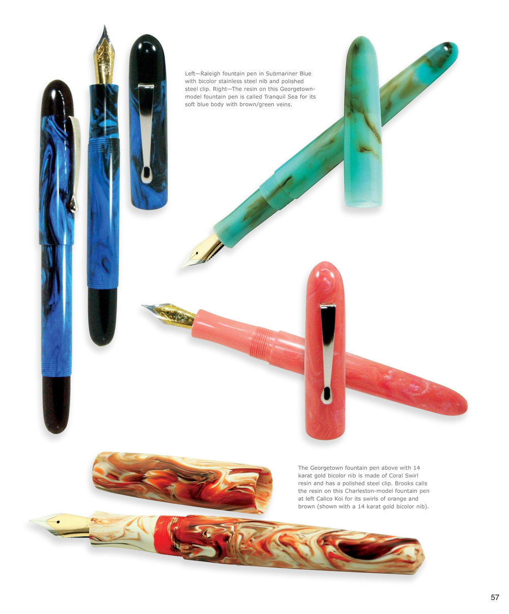 1000x1206 Reviews And Publications Carolina Pen Company