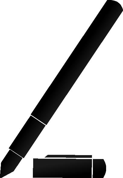 408x591 Fountain Pen Clip Art