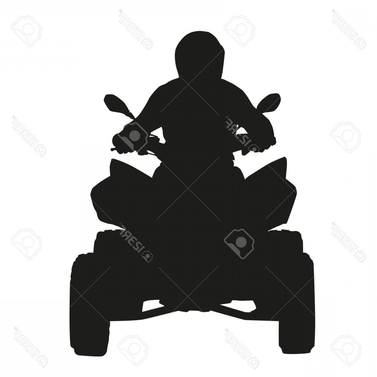 1560x1560 Photostock Vector Atv Rider Vector Silhouette Createmepink