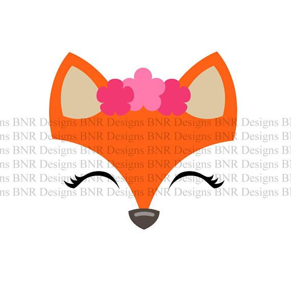570x570 Pin By Maria Haner On Sewing Cricut, Fox Face