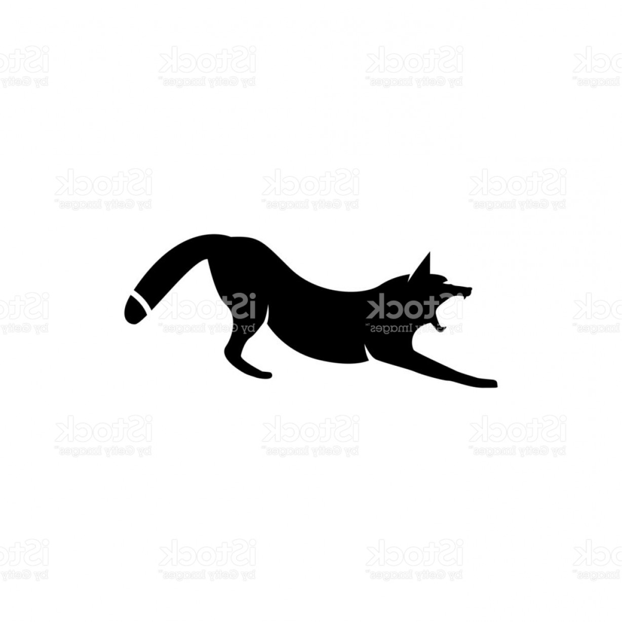 1228x1228 Fox Silhouette Vector Art Arenawp