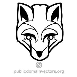 300x300 8513 Fox Head Silhouette Clip Art Public Domain Vectors