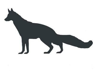400x300 Fox Silhouette