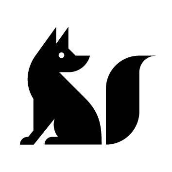 354x354 Fox Silhouette Foxes Fox Silhouette, Foxes