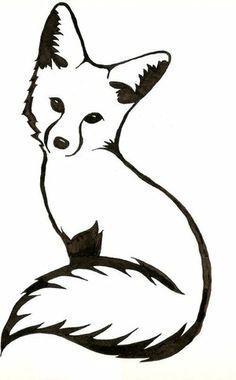 236x380 Pildiotsingu Fox Tattoo Tulemus Silhouette Fox