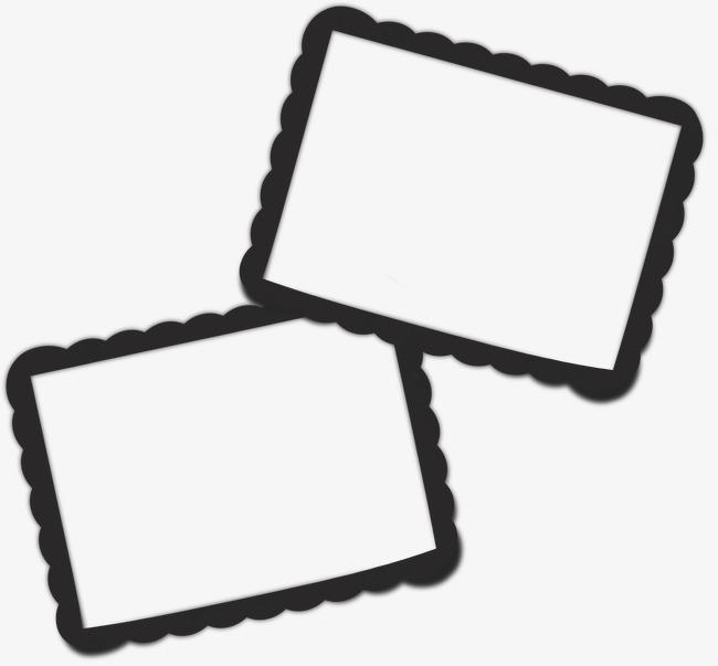 650x603 Frame Silhouette Cartoon,cartoon Frames Block, Frame Cartoon