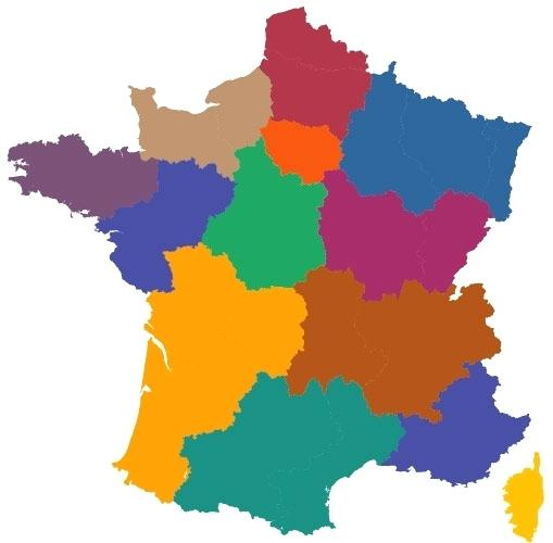 509x500 Map France Map Outline