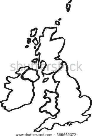 313x470 Maps Map Of Great Britain Outline Download United Kingdom Aka