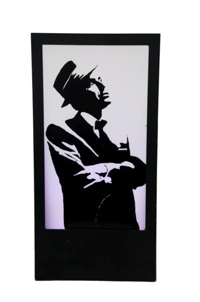 398x600 Frank Sinatra Silhouette Panel Props Silhouettes