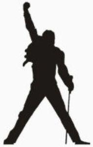 Freddie Mercury Silhouette