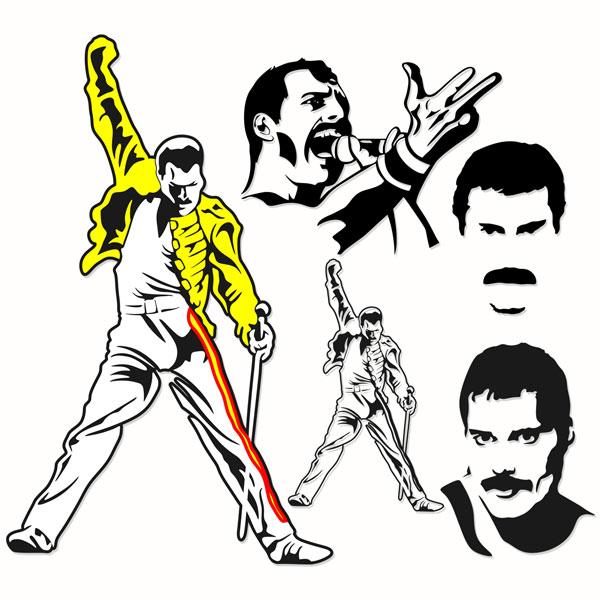 Freddie Mercury Silhouette At Getdrawings Free Download