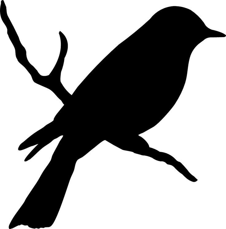 Free Bird Silhouette Clip Art