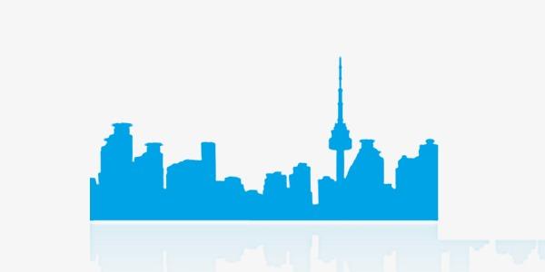600x300 Silhouette Of City Building, City, City U200bu200bbuilding, Building
