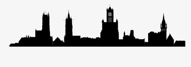 650x231 City U200bu200bbuilding, Building Silhouette, Architectural Background Png