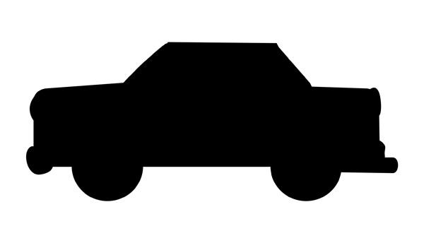 600x344 Car Black And White Auto Black And White Clipart