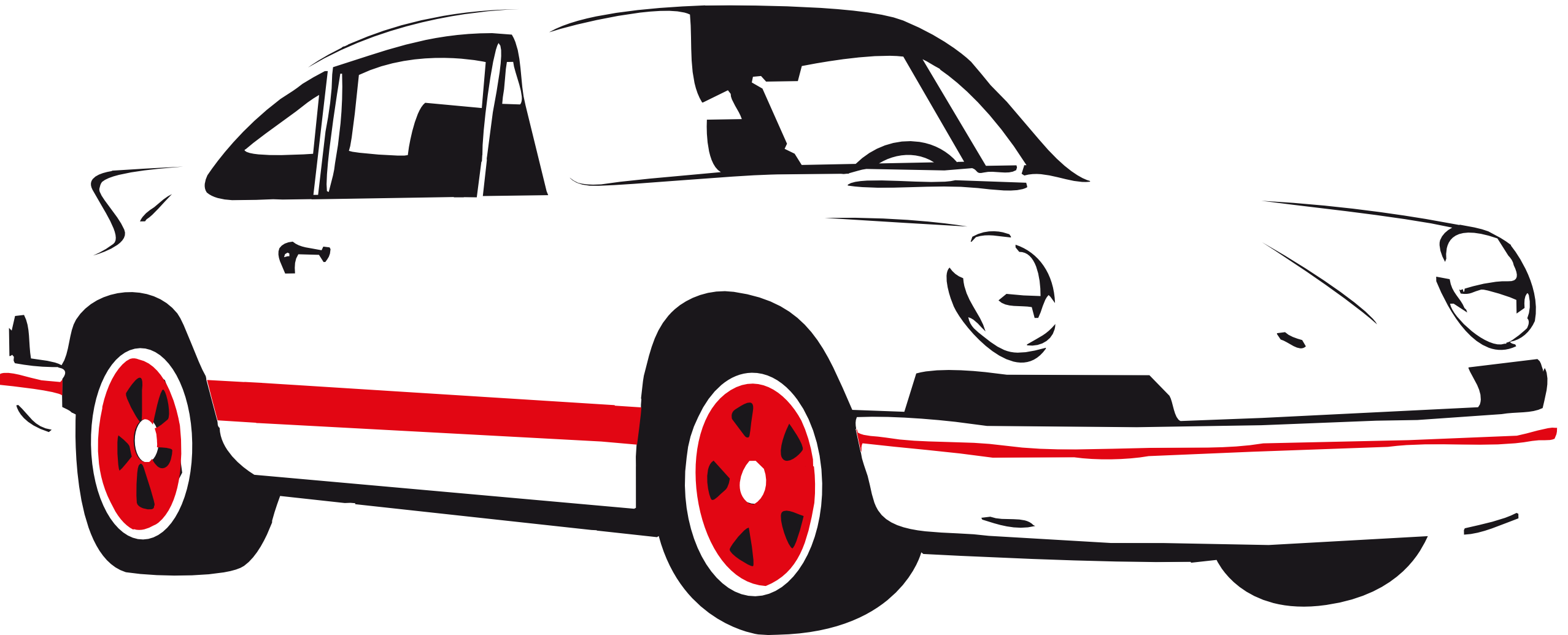 2555x1035 Free Vector Graphic Car Silhouette Vehicle Auto Image Clipart