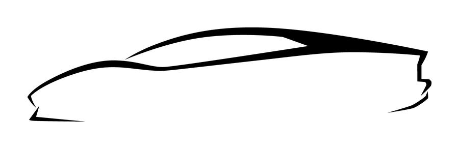 900x293 Lamborghini Clipart Silhouette