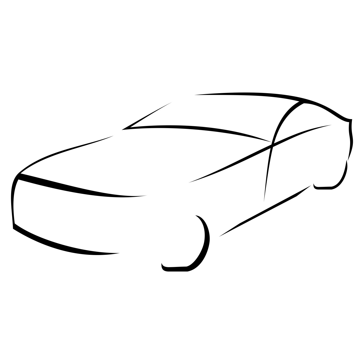 1500x1500 Vector For Free Use Car Silhouette Incredible Png