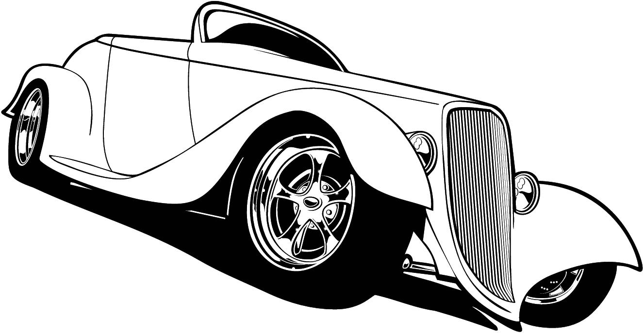 1325x687 Car Silhouette Clipart