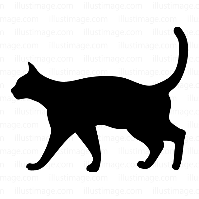 640x640 Free Cat Silhouette Cartoon Amp Clipart Amp Graphics [Ii]