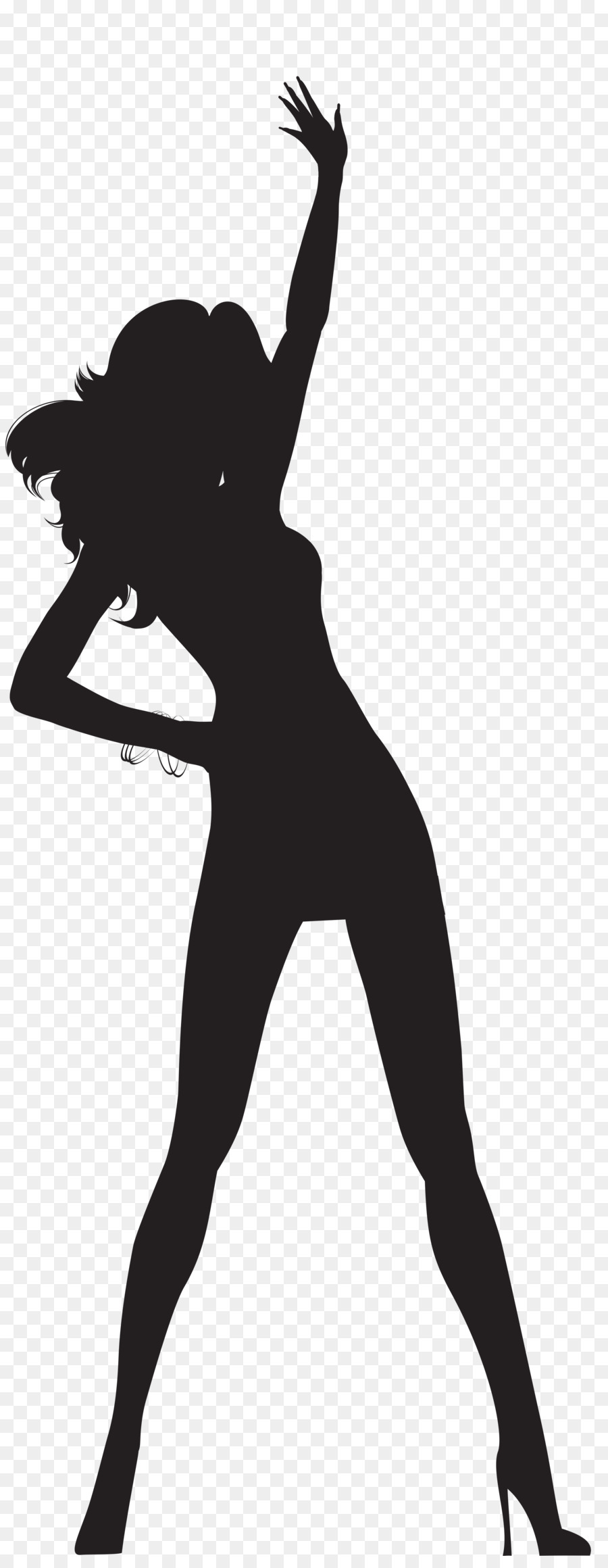 Free Clipart Dancers Silhouette