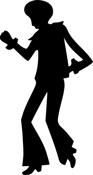 318x596 Disco Dancing Man Clip Art