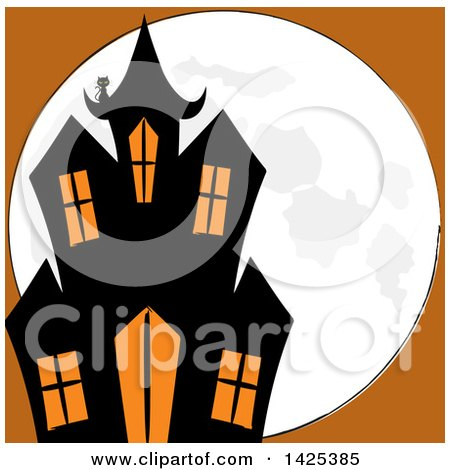 450x470 Top 91 Haunted House Clip Art