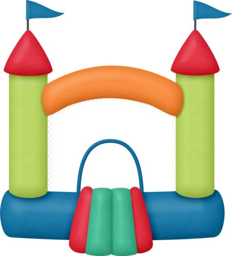 453x500 Bounce House Clip Art Free