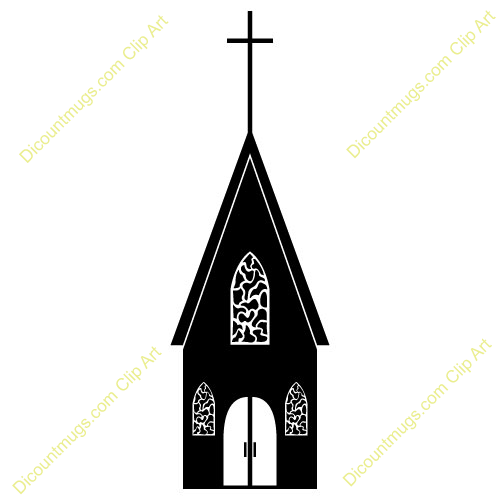 500x500 Church Clipart Silhouette