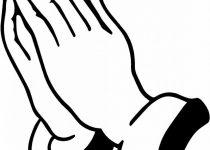 210x150 Clip Art Praying Hand Clip Art
