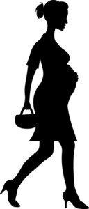 128x300 Free Pregnant Clipart Image 0515 1101 2617 4117 Best