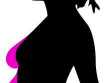 220x165 Pregnant Woman Silhouette Clip Art Pregnancy Free Stock Photo