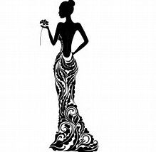 219x214 Image Result For Woman Flower Silhouette Eclectic Silhouettes