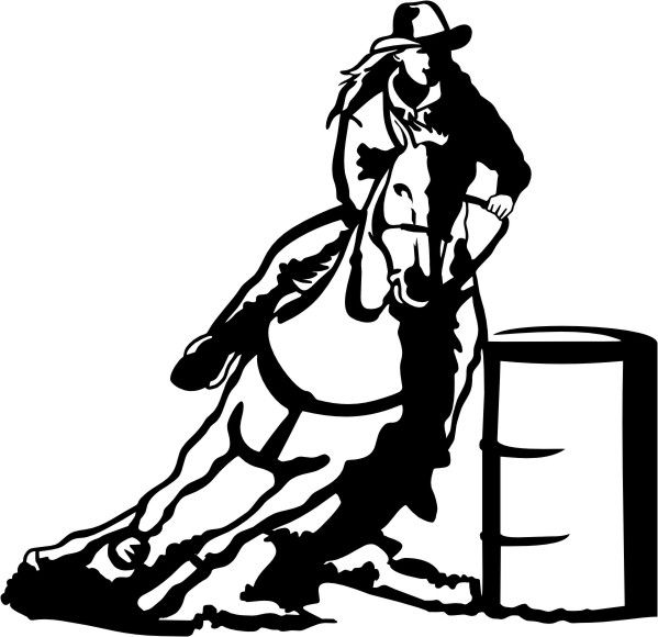 free cowboy silhouette clip art at getdrawings com free for rh getdrawings com free rodeo clip art images free rodeo clown clipart