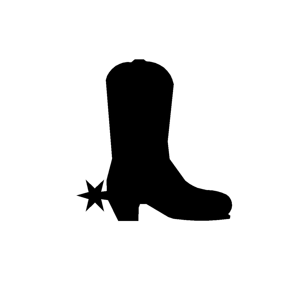 free cowboy silhouette clip art at getdrawings com free for rh getdrawings com cowboy boots pictures clip art free