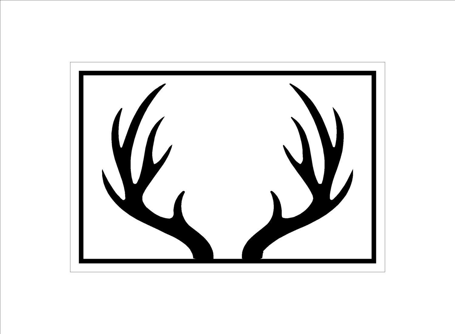 picture regarding Free Printable Deer Stencils referred to as Free of charge Deer Silhouette Printable at  Absolutely free for