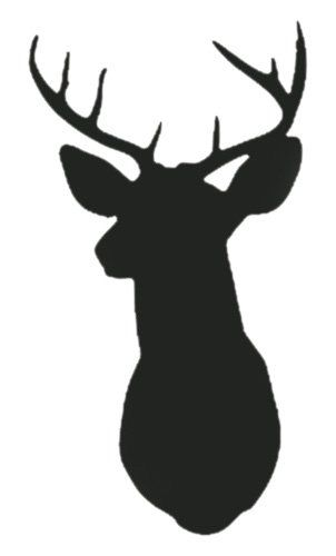 image regarding Deer Head Silhouette Printable identified as Cost-free Deer Silhouette Printable at  Free of charge for