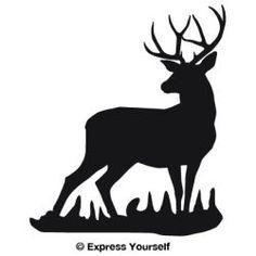 236x236 Buck Stag Deer Cakes