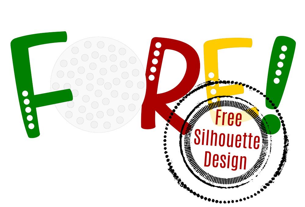 1000x680 Free Golf Silhouette Design