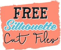 200x166 Free Silhouette Cut Files! Free Silhouette, Silhouettes And Filing