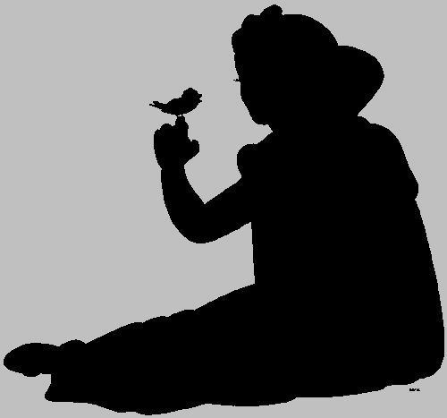 500x467 1591 Best Silhouettes Images On Pinterest Stencil