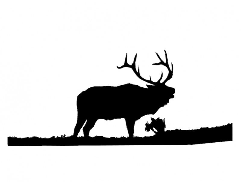 800x606 Elk 1 Dxf File Free Download