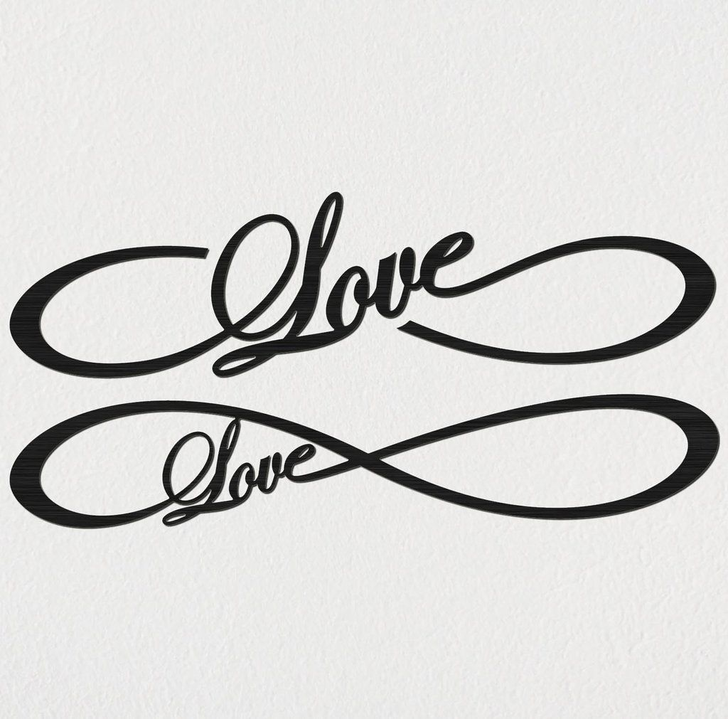 1024x1011 Free Love Infinity Dxf Files Cut Ready Cnc Designs