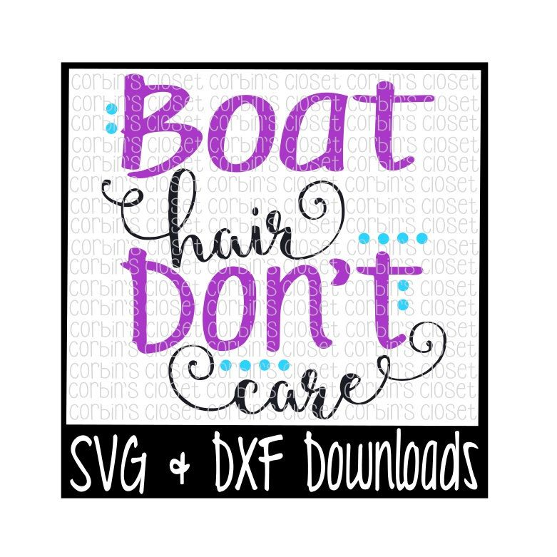 781x781 Boat Hair Don'T Care Cutting File