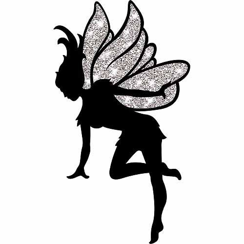 Free Fairy Silhouette
