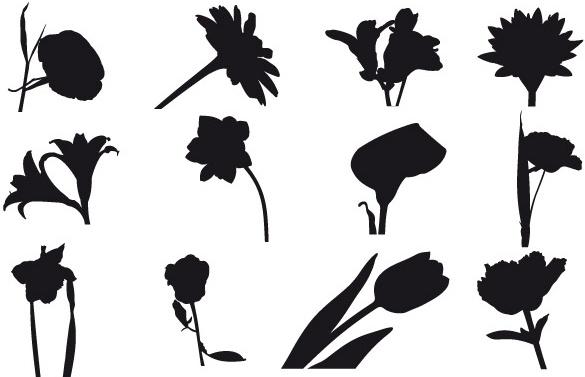 585x377 Free Field Flowers Free Vector In Adobe Illustrator Ai ( Ai